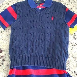 Polo Ralph Lauren polo shirt w/ Polo vest size 4t